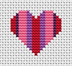 Easy Peasy Heart pattern