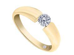 Solitario Klamore Diamante .30 Oro Amarillo 14 k-Liverpool es parte de MI vida