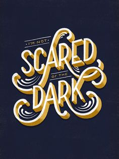 AR's notes: example of modern ornate, black & gold typography  ==  Lauren Hom