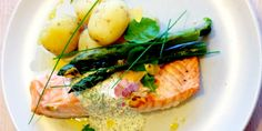Classic Swedish salmon with herby red caviar sauce