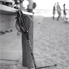 lacrosse on the beach