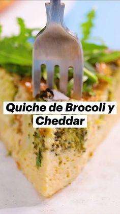 Quiches, Veggie Recipes, Vegetarian Recipes, Cooking Recipes, Healthy Recipes, Breakfast Diner, Comida Diy, Healthy Snacks, Healthy Eating