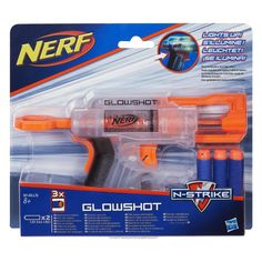 """Read my thoughts and opinions on the Nerf N-Strike Glowshot blaster. It lights up, but is that enough to receive a """"glowing"""" review from NerfGunAttachments?"""