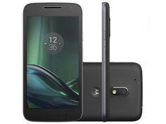 Smartphone Motorola Moto G 4ª Geração Play 16GB - Preto Dual Chip 4G Câm. 8MP…