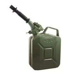 Green 1.3 Gallon Fuel Can