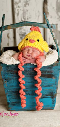 baby chick hat   Don't forget to follow us on Twitter for new products, sales and crafty ideas.  https://twitter.com/RusticFarmhouse  Visit & Like our Facebook page! https://www.facebook.com/pages/Rustic-Farmhouse-Decor/636679889706127