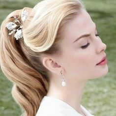 Side Bangs Hairstyles, 1950s Hairstyles, Second Day Hairstyles, Retro Hairstyles, Formal Hairstyles, Wedding Hairstyles, Halloween Hairstyles, Headband Hairstyles, Messy Ponytail Hairstyles