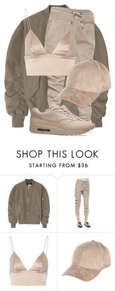"""Untitled #3143"" by xirix ❤ liked on Polyvore featuring Fear of God, Brunello Cucinelli, T By Alexander Wang, River Island and NIKE"