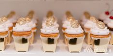 WedLuxe Visits: Connie Cupcake Design & Devour Grand Opening | WedLuxe Magazine  Mini cupcakes