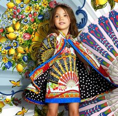 ALALOSHA: VOGUE ENFANTS: Spain in Sicily: the new Summer 2015 outfits collection for little ladies