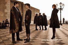 dolce and gabbana ad campaign fall winter 2012-2013 the sicilian charm