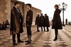 dolce and gabbana ad campaign fall winter 2012-2013 the sicilian charm