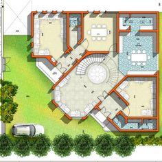 Cat House Plans, House Plans Mansion, House Layout Plans, Family House Plans, Dream House Plans, Modern House Plans, House Layouts, Small House Plans, Log Cabin Floor Plans