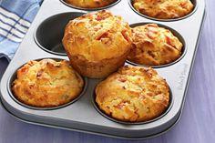 Receta de Muffins de salchicha y queso