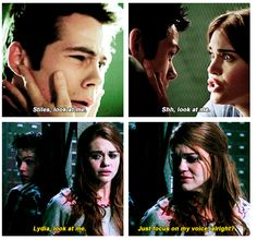 Lydia and Stiles have such a beautiful relationship. I don't ship them but they would be really good friends