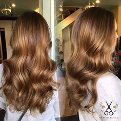 Rich fall tones by @_claudiacruz_ #balayage #haircolor #modernsalon