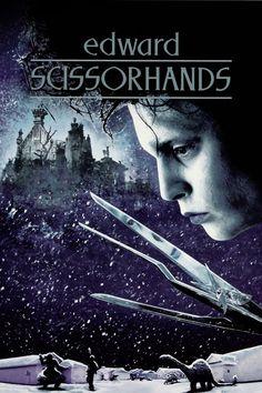 Edward Mãos de Tesoura (Edward Scissorhands), 1990.