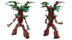 Ent Attack! | Always wanted to make one of these :D Taking a… | Flickr Lego Halloween, Take That, Creative