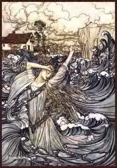Selkie. A mythological creature found in Faroese, Icelandic, Irish, and Scottish folklore.