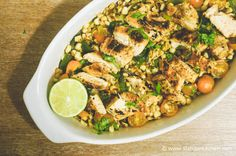 Honey Lime Chicken for just 223 calories and 5 PointsPlus