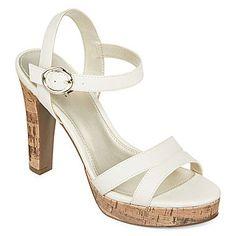 jcp | a.n.a® Lucas Platform Sandals