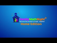 Family Math at Home - Family Math Nights are usually done at school but we created one that families can do at home. Watch the video below for tips on making it a special event. The video also includes instructions for doing four home-friendly activities for grades K-5.