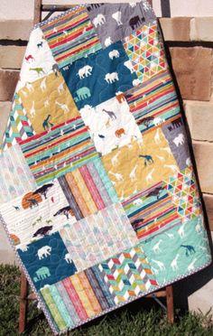 Husky Quilt Pattern - Fat Quarter ~ Fat Eighth Friendly - Sunnyside Designs - 5