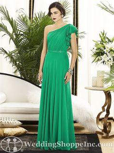 Emerald Bridesmaid Dresses - Dessy  2885 from www.weddingshoppeinc.com #emerald #bridesmaid #coloroftheyear