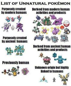 unnatural pokemon