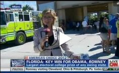 """A CNN anchor asked voters standing in line in Miami, Florida: """"Speak English?"""""""