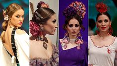 complementos de peinado Simof 2017 Costume Patterns, Crown, Costumes, Ideas, Fashion, Trending Hairstyles, Flamenco Dresses, Fascinators, Beauty