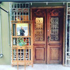 Uma porta antiga, ma