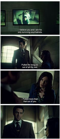 """HANNIBAL 2x5 """"Mokozuke"""" - Chiltons face is just """"I'm so sick of this show and it's puns"""" haha you think you were done suffering didn't you? Hahaha wait till next season."""