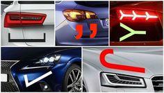 WOW ! Huruf Dan Tanda Baca Jadi Pilihan Desain Lampu Mobil  #mobilWOW