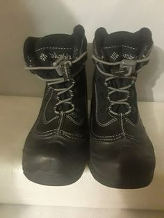 info for 07aed 92f70 ...  fashion  clothing  shoes  accessories  kidsclothingshoesaccs   unisexshoes (ebay link). See more. Youth Size 1 Black Columbia Winter Boots  Lace Up ...