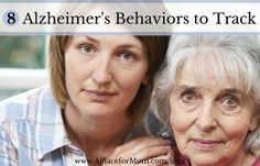 8 Alzheimer's Behaviors to Track