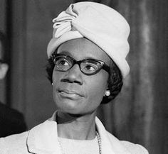 Shirley Chisholm First African-American woman elected to Congress Famous African American Women, Famous African Americans, Famous Women, Famous People, Women In History, Black History, Sandra Day O'connor, Shirley Chisholm, Great Women