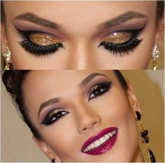 Glitter e gloss as grandes apostas da maquiagem no verão