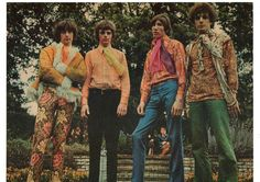 Pink Floyd in some stylish outfits