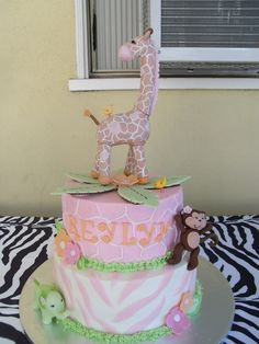 Jungle Jill By Carter's Themed Cake  on Cake Central