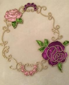 The Latest Trend in Embroidery – Embroidery on Paper - Embroidery Patterns Hand Embroidery Art, Learn Embroidery, Embroidery Patterns, Contemporary Art Forms, Nail String Art, String Art Patterns, Butterfly Painting, Thread Art, Flower Template