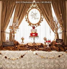 Once Upon a Time | Storybrooke | Theme Sweet Table | by PatriciaCarrozzini.com