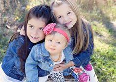 Little girls filled with sweetness and light.