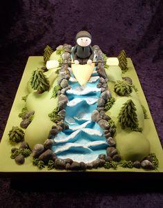 Canoe cake... Kate Donahue!!! !!!
