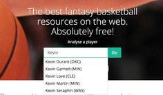 Searching for NBA players just got easier with auto complete on fasketball.com