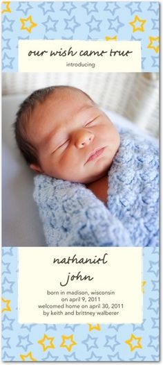 sweet adoption announcements baby pinterest adoption birth
