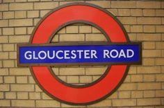 Gloucester Road: our very first apartment was here, 10 years ago. time flies!