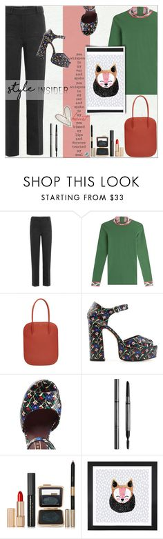 """""""STYLE Insider!!!"""" by alves-nogueira ❤ liked on Polyvore featuring Simone Rocha, Emilio Pucci, Nina Ricci, Marc Jacobs, Burberry, Estée Lauder and Dot & Bo"""