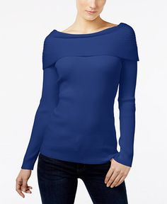 29.99$  Buy now - http://vinjp.justgood.pw/vig/item.php?t=denhio31554 - Ribbed Off-The-Shoulder Top, Only at Macy's