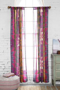 Magical Thinking Electric Chevron Curtain - Urban Outfitters
